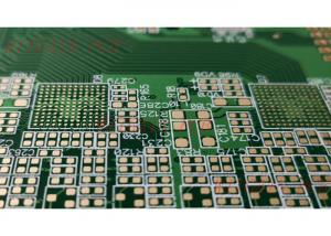 China Rigid 10 Layer Pcb 1.5MM Thick Board Thickness ENIG Green Solder Mask on sale