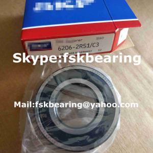 China Low Noise Deep Groove Ball Bearings Single Row for Motor on sale