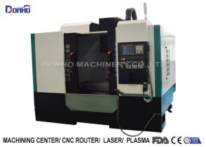 China Heat Exchanger CNC Vertical Machining Center For Mechanical Processing on sale