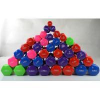 0.5kg-10kg Colorful  vinyl dipped coated neoprene women dumbbell for sale