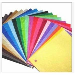 China Colored Waterproof Anti - Pull polypropylene PP Spunbond Non Woven Fabric 9 - 200gsm on sale