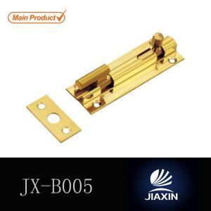 China 1 inch Width Brass Door Flush Bolts Solid Brass Sliding Barrel Bolts Brass gate latch types on sale