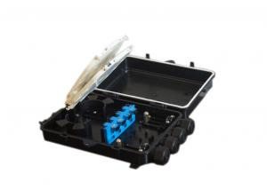 China IP68 pipeline wall mount fiber splice enclosure 2 in and 2 out on sale