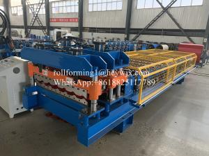 China 12 Rows Partial Arc Glazed Tile Roll Forming Machine on sale
