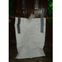Durable White PP Box FIBC Jumbo Bags Woven Polypropylene Container For Ore