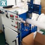 Hot air welding spiraling machine for support spiral cold shirink tube?