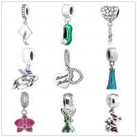 Fashion Jewelry  925 Sterling Silver Pandora dangle charms