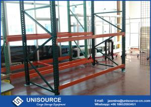 China Powder Coated Industrial Pallet Racks Heavy Duty Garage Shelving Corrosion Resistant on sale