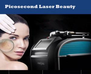 China Picosure Tattoo Removal Salon Beauty Machine Q Switched Nd Yag Laser 1064nm on sale