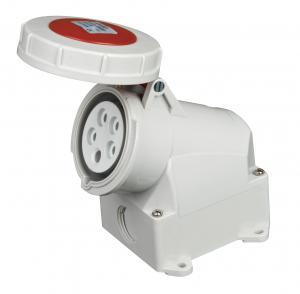 China Wall Mounted Waterproof Plug Socket Third Generation Standard Contact on sale