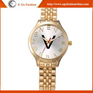 China GV15 Rose Gold Watches for Woman Women's Watch Female Quartz Watch Geneva Luxury Watches on sale