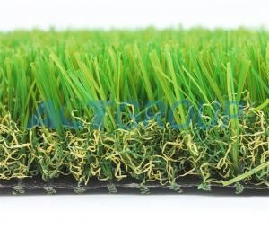 China Thick Soft  Pet Friendly Artificial Turf , High Resilience Artificial Grass Mat on sale