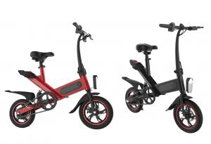 China Carbon Steel Electric Pedal Bike 350W Brushless Contour Engine 25KM/H High Efficiency on sale