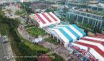 Liri Big Tent exhibition tent event tent large hall for brand promotion and product exhibition