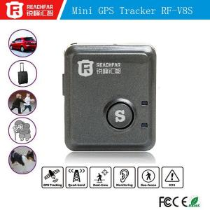 China Professional manufacturer pet and personal vehicle fleet management RF-V8S gps tracker software on sale