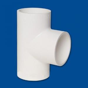 China PVC Fittings Equal Tee (Soc) For Water Supply on sale