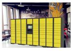 Network Remote Manage Storage Parcel Delivery Lockers With RFID Card Reader