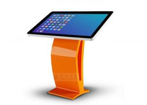 China Public Interactive Information Touch Screen Kiosk For Self Service on sale