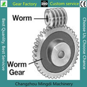 China Rosh/CE/ISO Spiral Bevel Gear Custom Worm And Worm Gear Set For Toys on sale