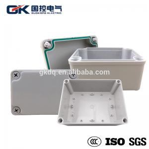 China Industrial ABS Junction Box Terminal / Outdoor Plastic Waterproof ABS Box Small Scale on sale