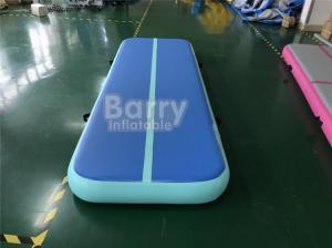 China Custom Indoor Outdoor Airtight Inflatable Airtrack Gymnastics Mat For Gymnastics on sale
