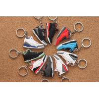 China Nike Air Jordan 3 AJ Keychain Power Blue Black Cement Fire Red True Blue on sale