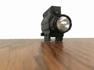 China Military Rail Mount Flashlight With Strobe 200m Beam Disatance CREE  XP L2 LED on sale