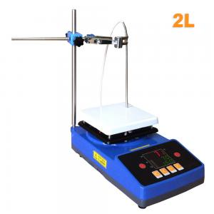 China Laboratory High Quality Temperature Cheap Magnetic Stirrer with Heating Hot Plate on sale