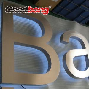 China Metal Adhesive Letters, self adhesive metal letters, backlit metal letter on sale