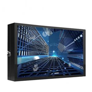 China led outdoor wall mount touch screen advertising info kiosk display payment kiosk outdoor digital signage on sale