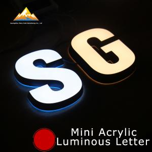 China Led Channel Letters Shop Signs Glow Sign Board Business Signage Solutions on sale