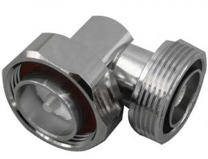 China RF coaxial 7/16 din male to 7/16 din female right angle IBS Components connector adapter on sale