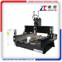 China stable economic CNC Router Machine for Stone wood metal with air cylinder ZK-1212
