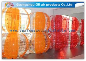 China Colorful Body Inflatable Zorb Human Hamster Ball Soft Carpet For Playing Center on sale