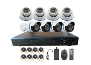 China Business / House Weatherproof CCTV Security Camera Systems With 8CH D1 DVR on sale