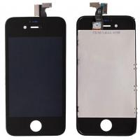 10pcs/lot For Apple for Iphone 4S Replacement LCD touch screen digitizer assembly LCD Display black or white