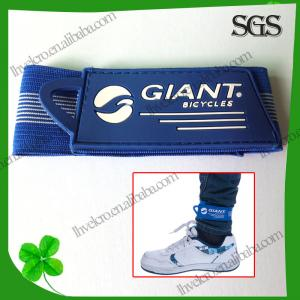 China elastic band pants velcro leg strap on sale