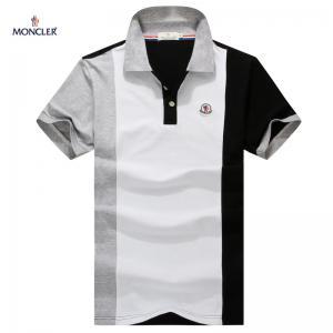 Moncler men polo shirts ,100% cotton polo fashion shirts