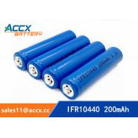 IFR10440 3.2V AAA size lifepo lithium rechargeable battery
