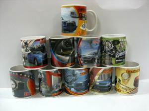 China 11oz ceramic mug with popular car design on sale