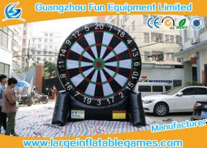 China CE UL Outdoor Inflatable Soprt Games / Soccer Darts Inflatable on sale