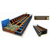 260M2 China Professional Trampoline for Sale /Professional Gymnastic Small trampoline Park