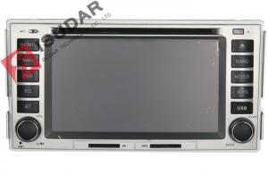 China HYUNDAI SANTA FE Car GPS Navigation DVD Player 3G 1080P Car Video Player With Gps CPU 800M on sale