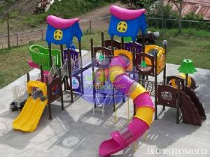 China Precision Plastic Rotational Moulding For Kids Outdoor Playground Equipments on sale