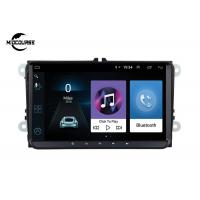 China ANDROID VW SKODE SEAT PASSAT AUTO HEADUNIT 2 DIN CAR NAVIGATION CAR DVD PLAYER 4G LTE 9INCH RAM1G 2G on sale