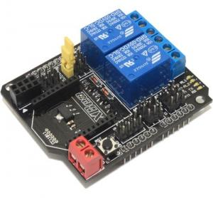 China Home Automation 2 Channel Relay Shield With XBee BTBee interface on sale