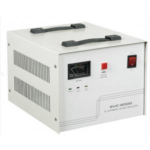 China SVCの単一フェーズの自動電圧調整器 on sale