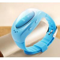 Mini GSM Wrist Watch GPS Tracker For Children , Support Android IOS APP