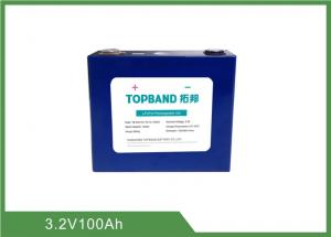China High Energy Lithium Rechargeable Lifepo4 Battery 3.2V 100Ah For Solar Energy Storage EV on sale
