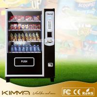Bulk candy / gumball / cool drinks Healthy Snack Vending Machines LED screen